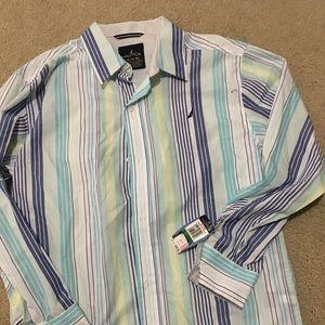 Nautica long sleeve dress shirt